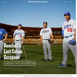 Baseball's Last Cuban Escapees