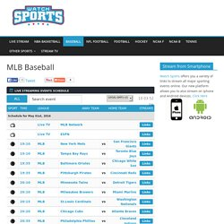 MLB Baseball Live Stream
