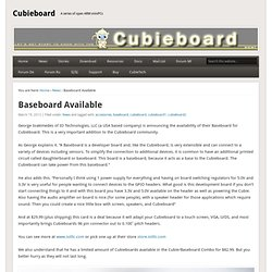 Baseboard Available