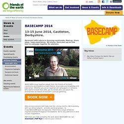 BASECAMP 2013 : Activism Events : Events calendar