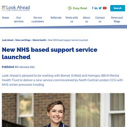 New NHS based support service launched