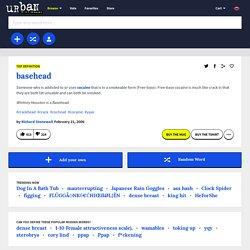 basehead -