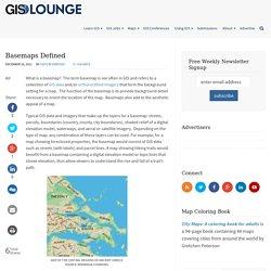 Basemaps Defined ~ GIS Lounge