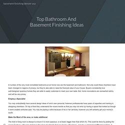 basement finishing denver usa