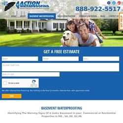 Best Basement Waterproofing Service by AA Action Waterproofing