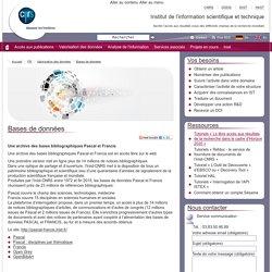 INIST - ABES (CNRS) - SHS