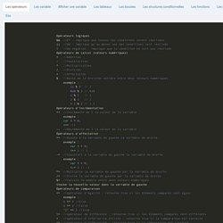 Bases Javascript