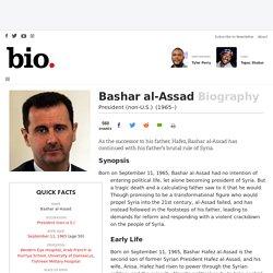 Bashar al-Assad - President (non-U.S.) - Biography.com