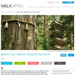 Basho Tour: Narrow Road to the North - Walk Japan Ltd.