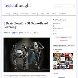 6 Basic Benefits Of Game-Based Learning