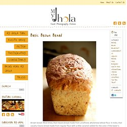 Basic Brown Bread Recipe