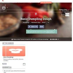 Basic Dumpling Dough Recipe