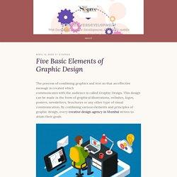 Five Basic Elements of Graphic Design – syspreewebdevelopment