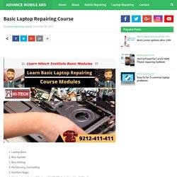 Basic Laptop Repairing Course