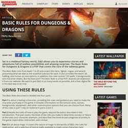 Basic Rules for Dungeons & Dragons