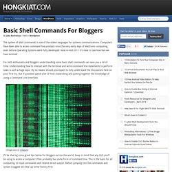 Basic Shell Commands For Bloggers