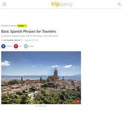 Basic Spanish Phrases for Travel