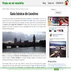 Guía básica de Londres
