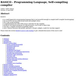 BASICO programming language
