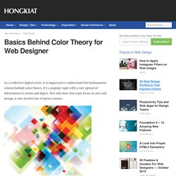 Basics Behind Color Theory for Web Designer