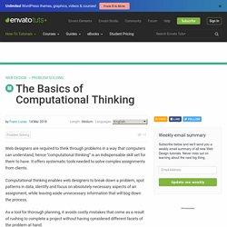 The Basics of Computational Thinking