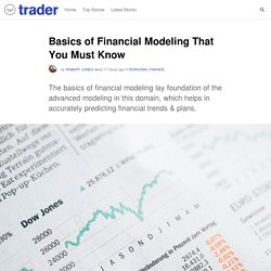 Basics of Financial Modeling That You Must Know