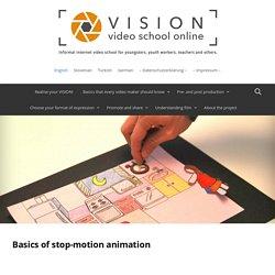 Basics of stop-motion animation
