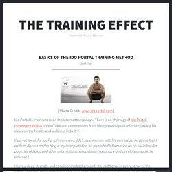 Basics of The Ido Portal Training Method