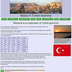 Basics of Turkish Grammar