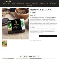 Neem Oil and Basil Oil Soap – Buy Neem Oil Handmade Natural Soap Online at Low Price