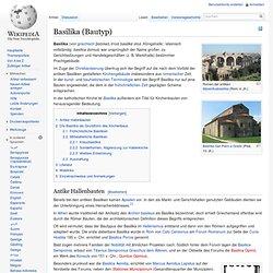 Basilika (Bautyp)