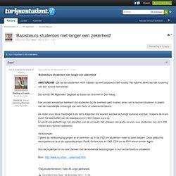 'Basisbeurs studenten niet langer een zekerheid' - turksestudent.nl