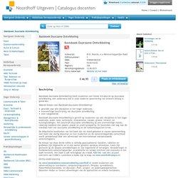 Basisboek duurzame ontwikkeling.