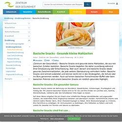 Basische Snacks - Die Anleitung