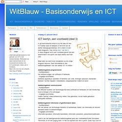 ICT leerlijn, een voorbeeld (deel 3)