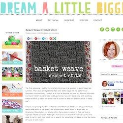 Basket Weave Stitch