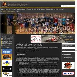 Le basket pour les nuls « Basket Club Union Ganshoren