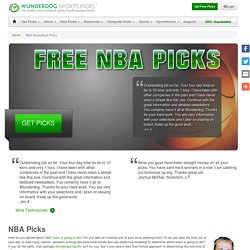 Wunderdog provides Free Nba Picks