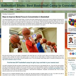 Improve Mental Focus & Concentration in Basketball