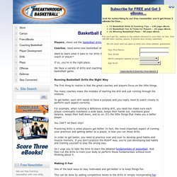 Basketball Drills for Coaches