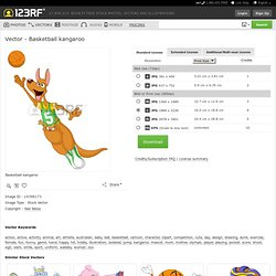 Basketball Kangaroo Royalty Free Cliparts, Vectors, And Stock Illustration. Image 14396173.