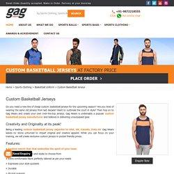 Buy Custom Basketball Jerseys