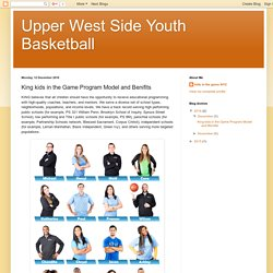 King kids in the Game Program Model and Benifits