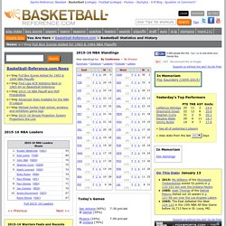 Basketball-Reference.com - Basketball Statistics and History