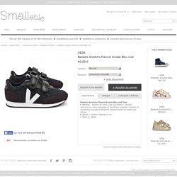 Baskets Scratchs Flannel Arcade Bleu nuit Veja - Chaussures Enfant