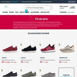 Baskets pas cher, toutes les sneakers fin de série en promo sur Chausport.com