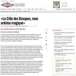 «La Côte des Basques, mon ardoise magique»