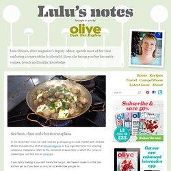 Sea bass, clam and chorizo cataplana - Lulu's notes
