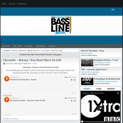 Bassline Blog » Free Full Tracks