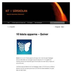 10 bästa apparna – Quiver